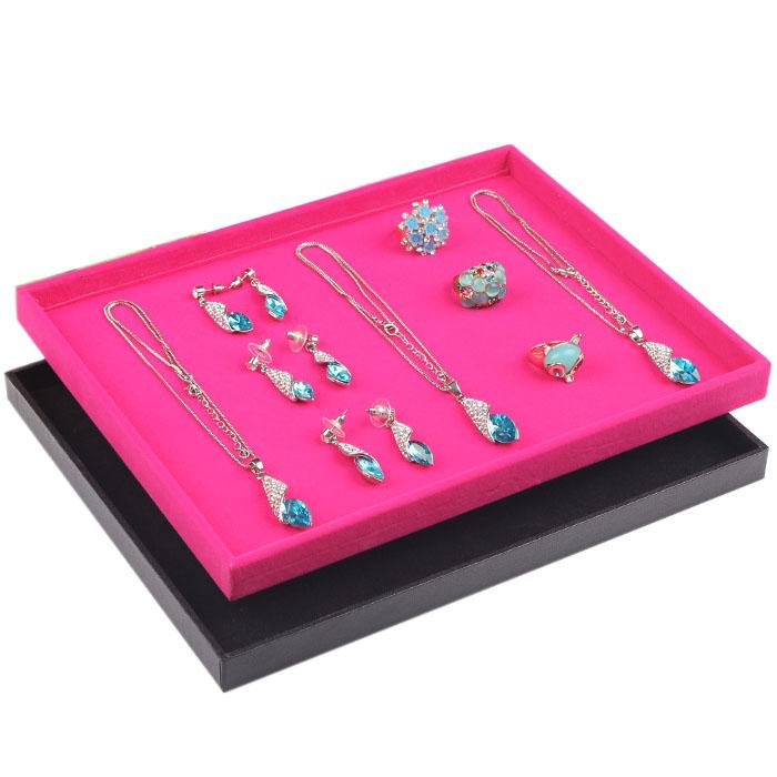 Small and Beautiful Jewelry Display Stand Jewelry Tray For Necklaces Bracelets Rings Earrings Bangle Watch Holder