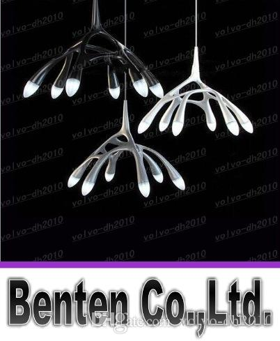 Free shipping Modern Glass Chandelier Art Next NLC Creative Pendant Lamp G4 Lights Lighting by Milan Designer LLFA4190F