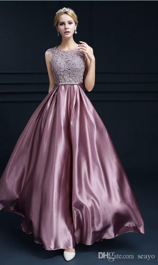 2020 fashion party dress length 2019 new year will be the hostess catwalk dress evening dress color pink and purple from seayo 62 87 dhgate com dhgate com