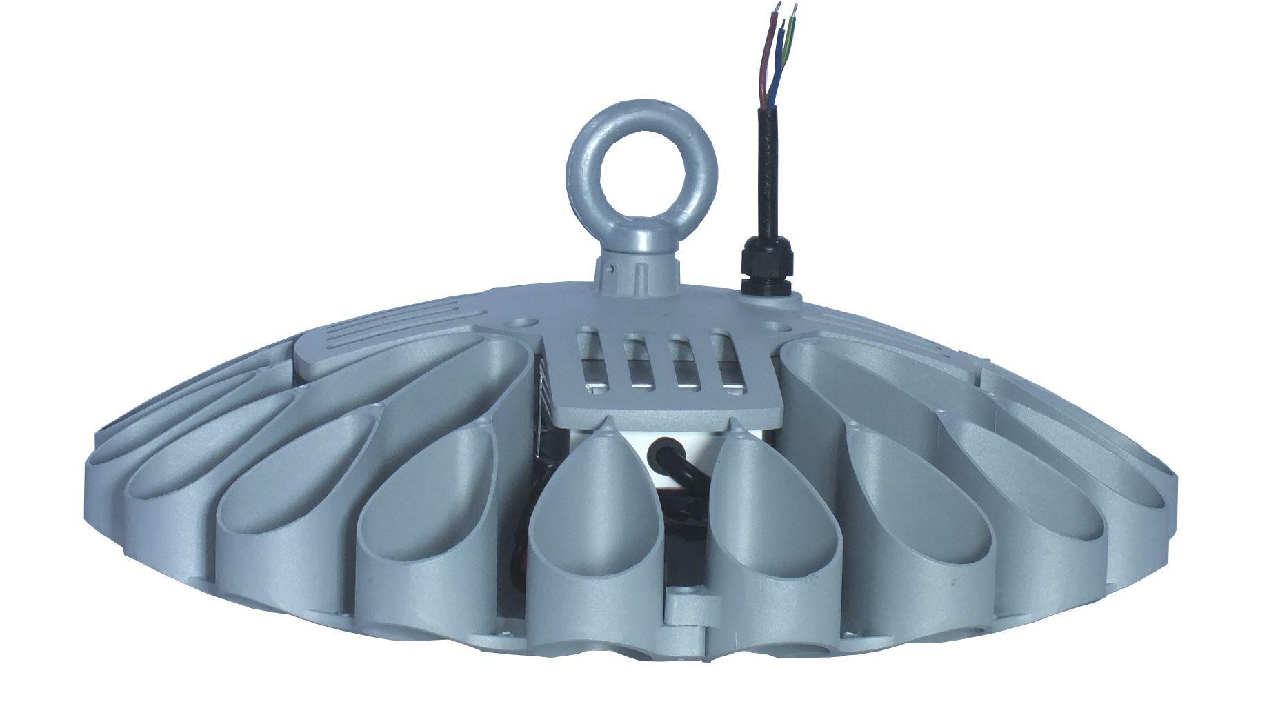 120W 150W 180W 200W 250W UFO 작풍 높은 만 빛 창고 램프 Meanwell 운전사 높은 루멘 SMD3030 칩 3years 보장