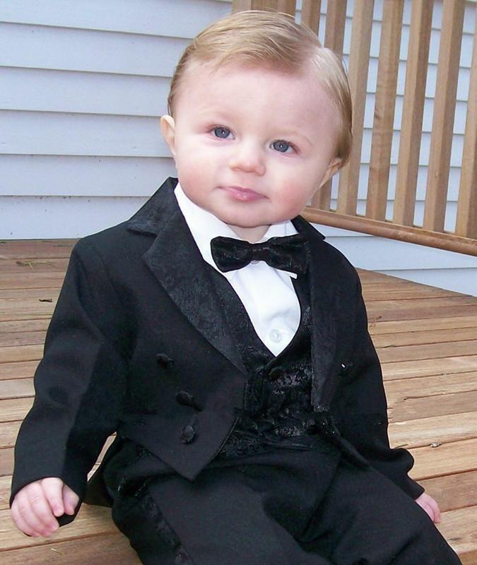 2015 дети формальная одежда пользовательские смокинги мальчики костюм мальчик свадебные костюмы мальчик смокинг мальчики платье костюм(куртка+брюки+галстук+жилет)