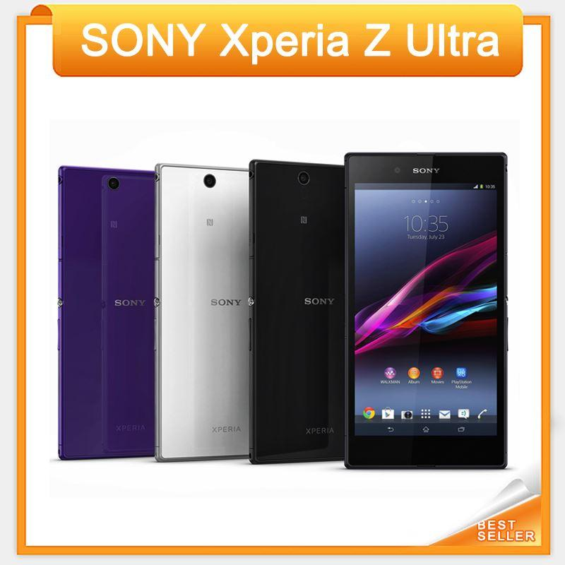 الأصلي سوني اريكسون Z الهاتف الترا XL39H خلية رباعية النوى 2GB RAM 3G4G C6802 C6833 6.4 تعمل باللمس كاميرا 8MP WIFI GPS مفتوح الهاتف