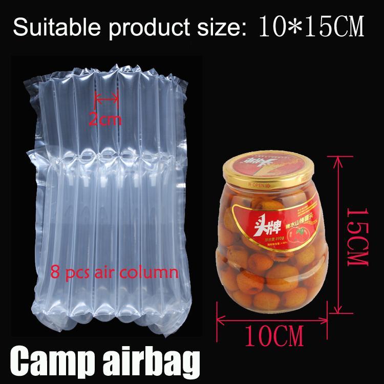 Надувная Воздушная пневмооболочка (Dia.10 * H15cm) на воздушную подушку Колонок (3 см) Buffer мешок защиты продукта хрупких товаров