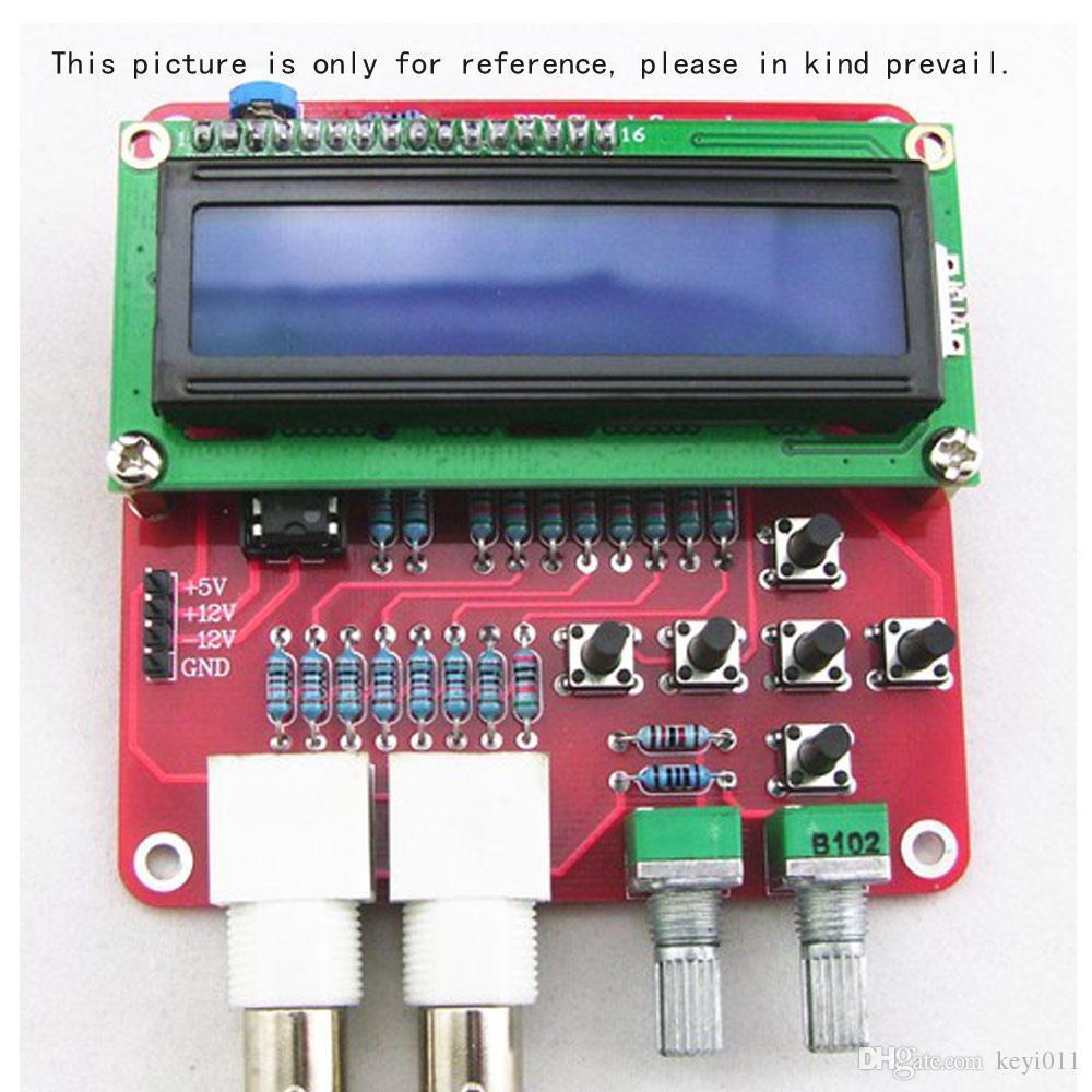 DDS Function Módulo de generador de señales Kit de bricolaje Sine Square Diente de diente de sierra triangular