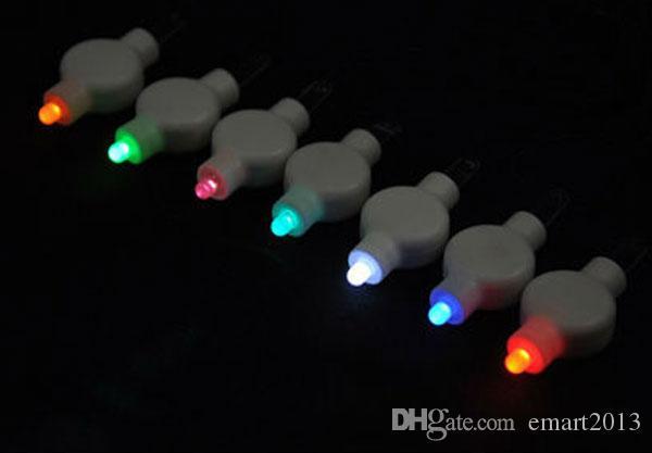 Freies Verschiffen 200pcs / lot batteriebetriebener Fall führte Papierlaternenlicht, geführtes florylete Licht mit Blumen für Papierlaterne als Hochzeitsfest decora