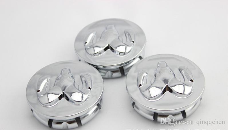 4 pc ABS 자동차 엠 블 럼 휠 허브 모자 54 mm 염소 허브 커버 자동차 로고 도브에 대 한 장식 센터 모자
