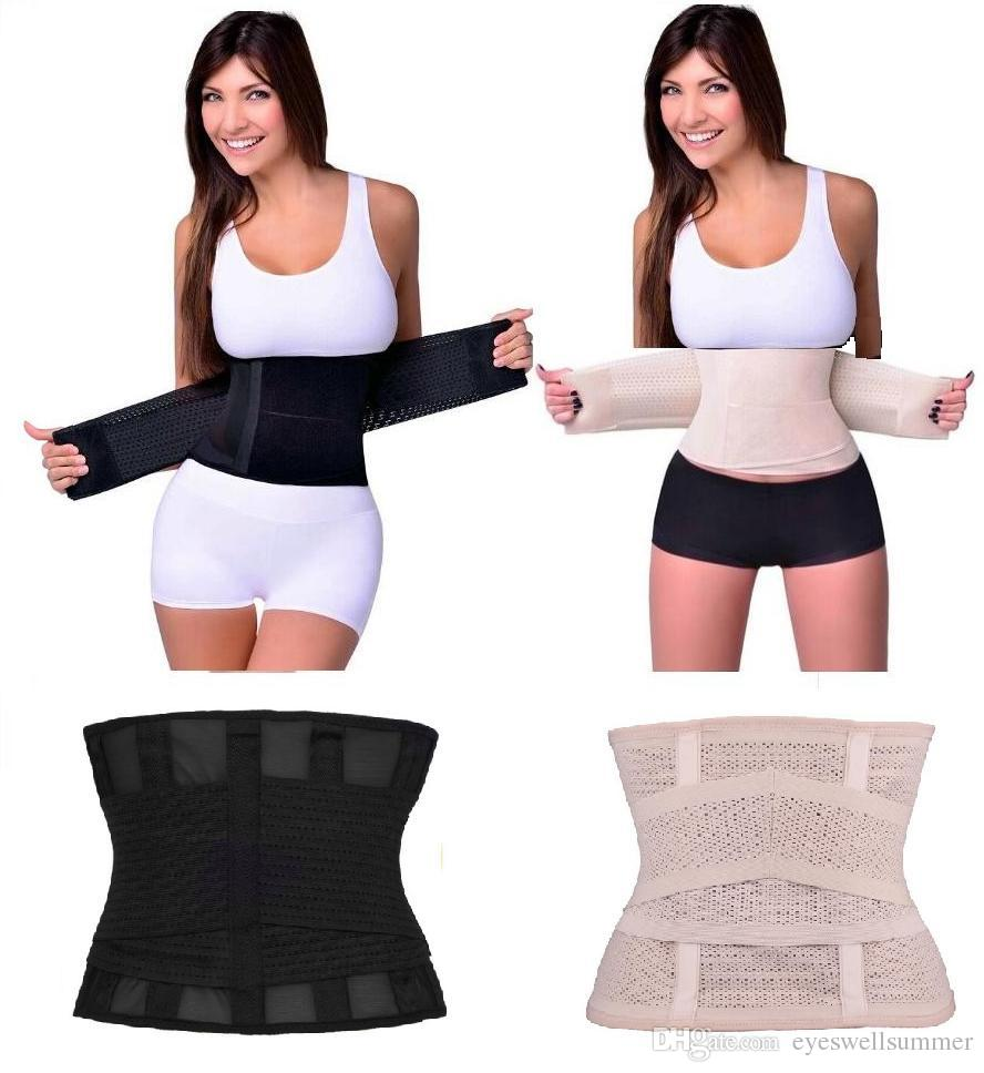 Women Waist Trainer Tummy Trimmer Cincher Corset Belt Slimming Body Shapewear