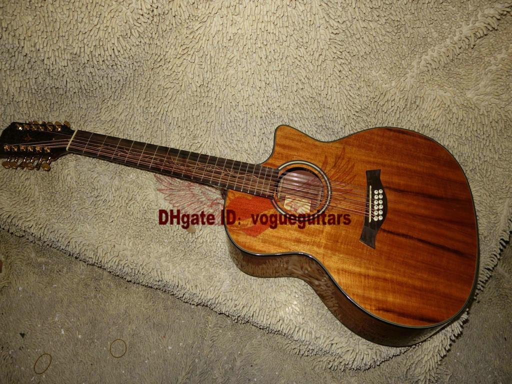Acoustic 12 string Guitar Classic Acoustic 12 string Electric guitar China guitar Free shipping