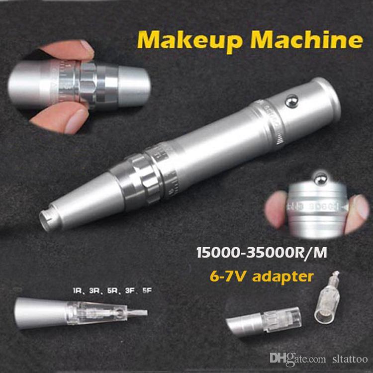 Black Bayonet Maquillage Permanent Microneedles Sourcils Lèvres Machines / Professional Nano Cartouches Aiguilles Maquillage Machine Pen Livraison Gratuite