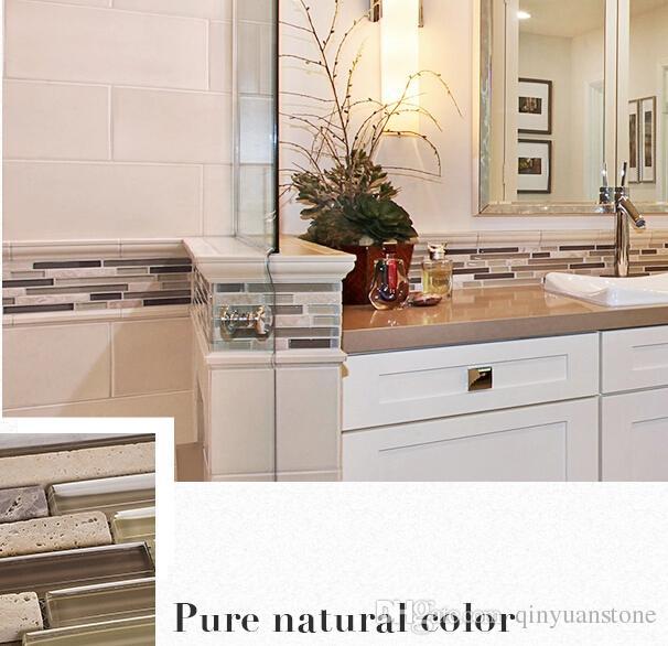 Fabulous Großhandel Glas Stein Mosaik Fliesen Küche Zimmer Backsplash  LH78