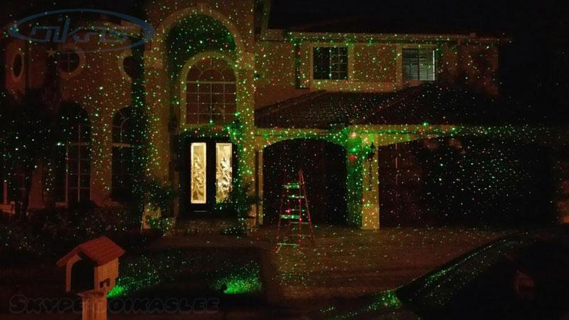 Green Christmas Lights.Outdoor Ip65 Waterproof Laser Light Red Green Firefly Effect Laser Projector Christmas Lights Laser Show House Projector Uk 2019 From Ooikas Uk