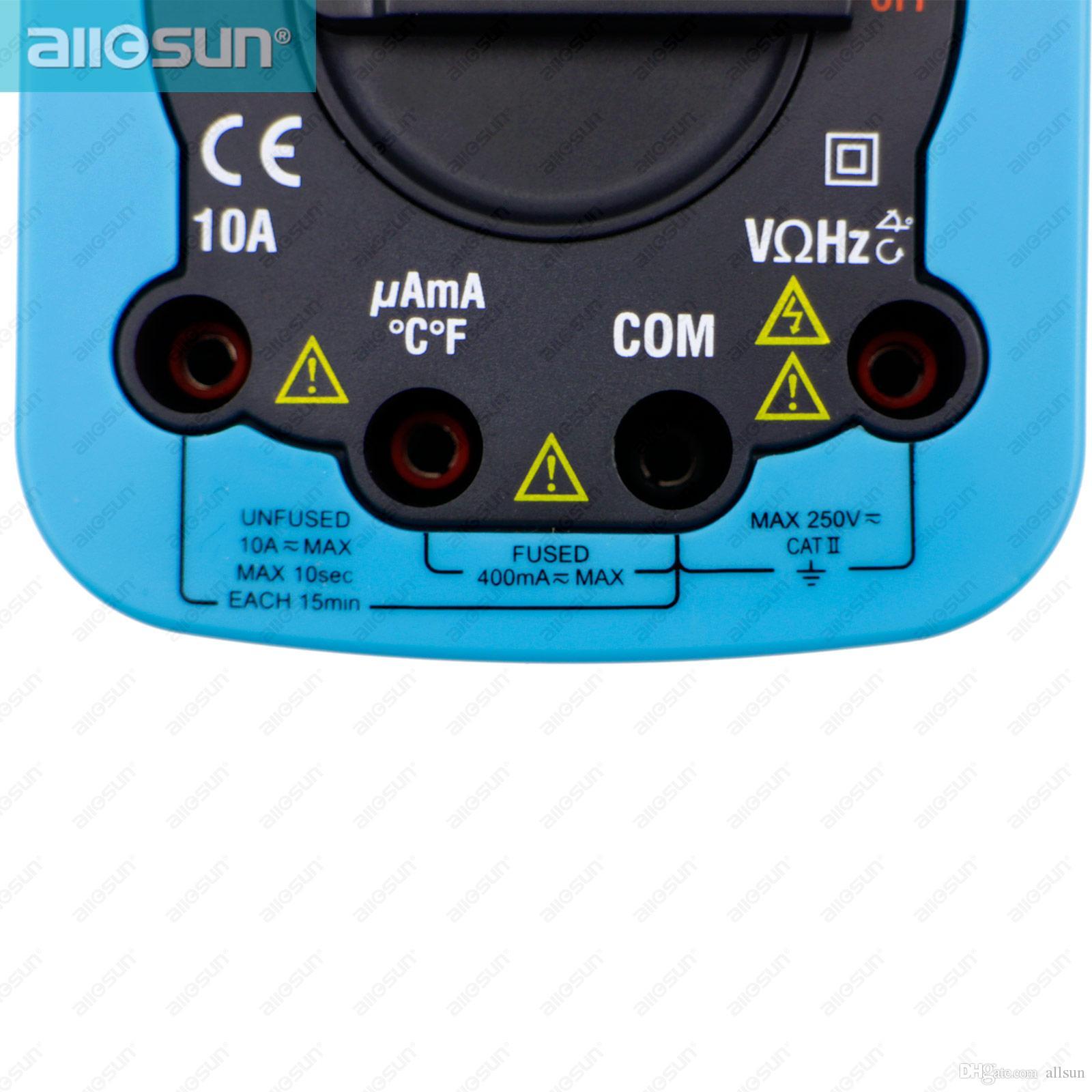 Pro Digital Automotive Multimeter Handheld RPM Dwell Angle Test Pulse Width Test