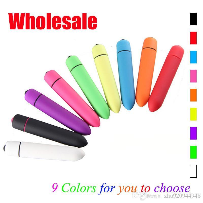 Wholesale Adult Products Wireless Vibrating Dildo Portable Mini Bullet Vibrators for Women Sex Toys Cheap G-spot Bullet Toys