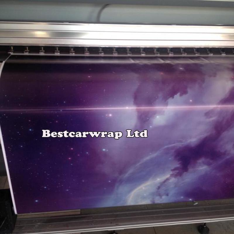 Starry Sky stickerbomb Vinile Car Wrap Film adesivo bomba grafica decal con rilascio d'aria Vinile stampato in finitura opaca lucida