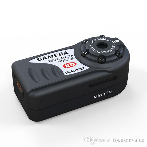 dropshipping Vigilancia Full HD 1080P Mini DV Q5 infrarrojos de visión nocturna Mini cámara grabadora de vídeo Seguridad para el Hogar mini videocámara