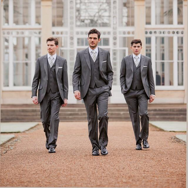 Custom Made New Arrive Fashion Style High Quality Groomsmen Suits ...