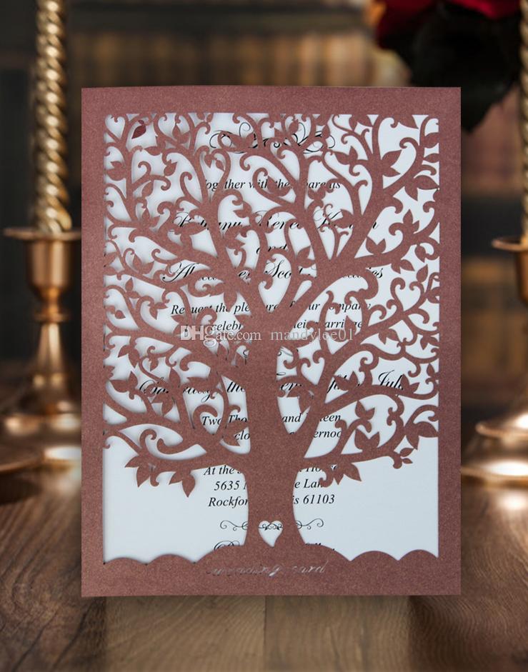 rBVaGFXJsTGAIwJkAAhvQwRQ_so133 cheap elegant love tree design wedding invitation card laser cut,Laser Cut Party Invitations