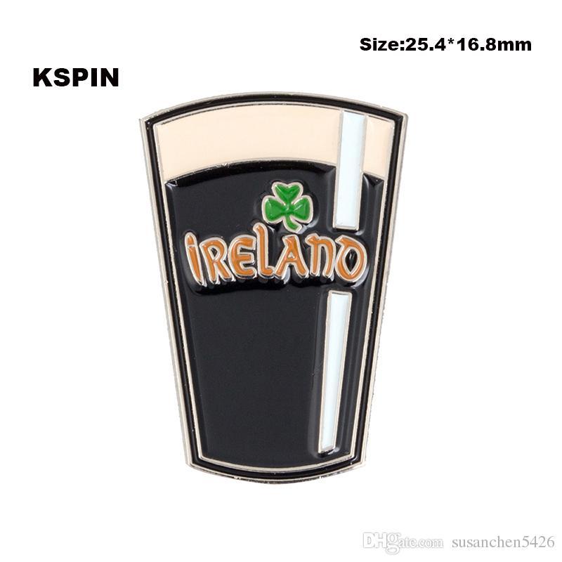 Perni di spilla 10PCS del distintivo del metallo dell'Islanda che spedice liberamente XY0065