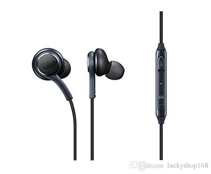 Nuove cuffie S8 auricolari auricolari neri originali EO-IG955BSEGWW auricolari vivavoce per auricolari OEM Samsung Galaxy S8 S8 Plus DHL