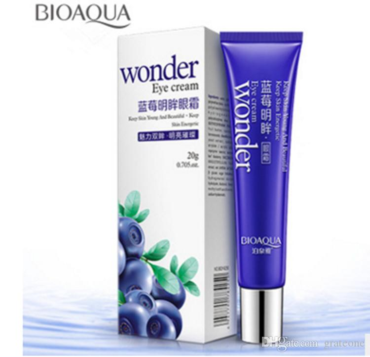 DHL FREE Wonder Eye Cream Brand BIOAQUA Skin Care Blueberries Moisturizing Hydrating Whitening Anti Wrinkle Remove Dark Circles Eye Creams