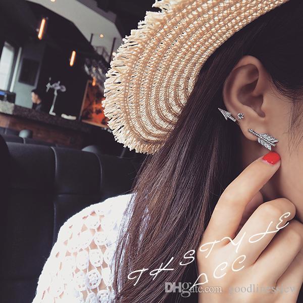 여성을위한 귀걸이 여성을위한 저렴한 스터드 귀걸이 도매 패션 주얼리 실버 새 한국어 귀걸이 스터드 팩