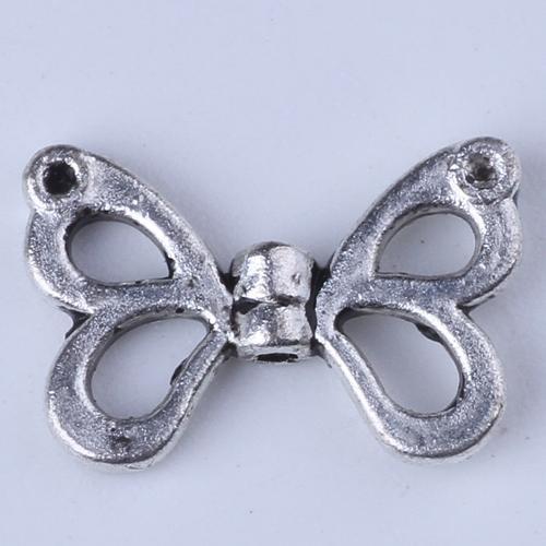 Nova moda Retro Borboleta Pingente de prata / cobre DIY jóias pingente fit Colar ou Pulseiras 1000 pçs / lote # 1390c