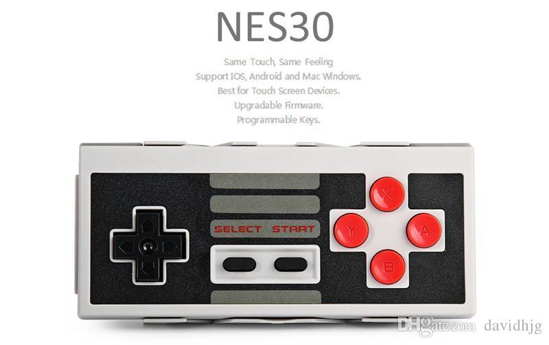 8Bitdo NES30 Pro تحكم لاسلكي بلوتوث ثنائي المقود الكلاسيكية ل ios الروبوت غمبد تحكم الكمبيوتر ماك لينكس pk xbox 360