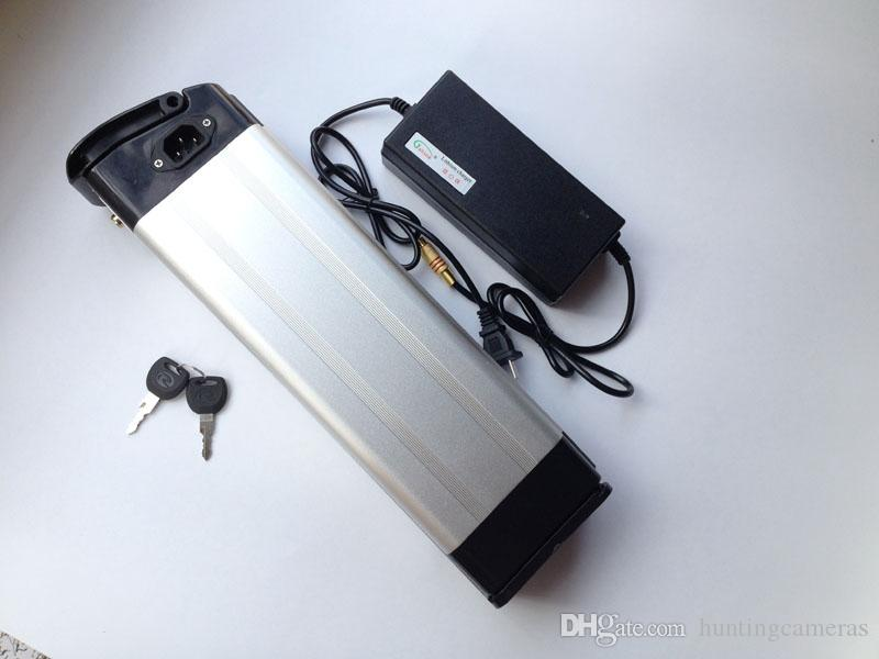 Бесплатная Доставка!!!батарея велосипеда электрическая 48v ,батарея 48V 15AH для электрического велосипеда с заряжателем, BMS