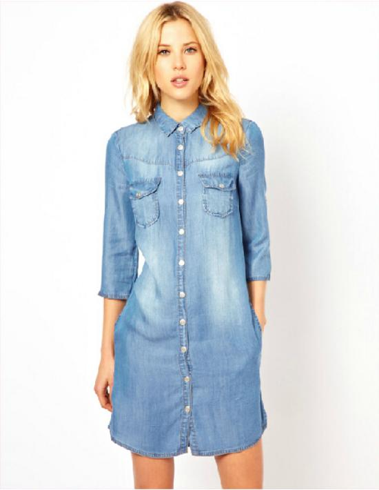 denim dresses women - Dress Yp
