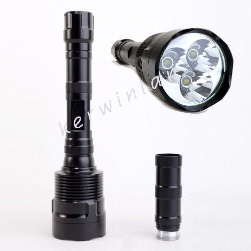 Trustfire cree xm-l t6 * 3 led taschenlampe 3800 lumen 5-mode led taschenlampe lampe für sport camping