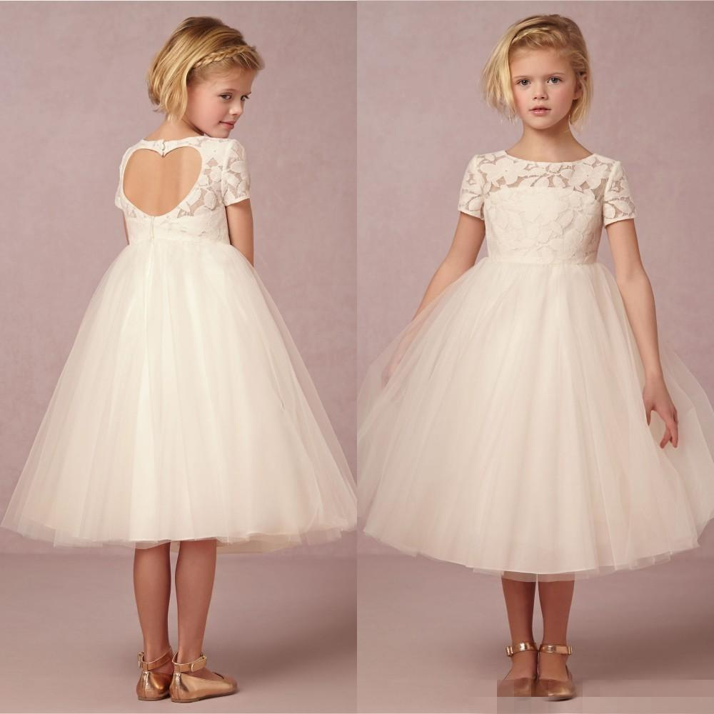 Cheap New Lovely 2015 Cute Junior Flower Girls Dresses For ...