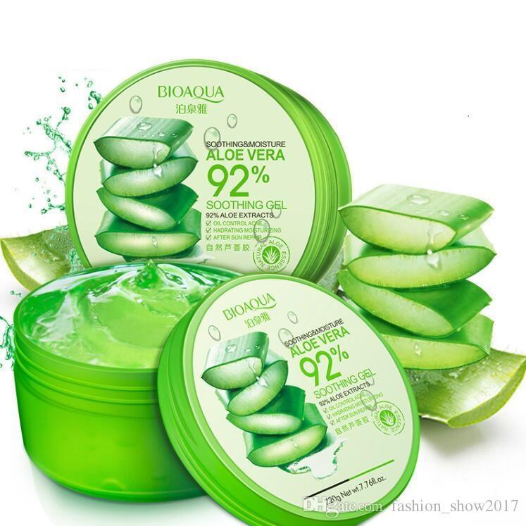 Bioaqua Natural Aloe Vera Smooth Gel Acne Treatment Face Cream For