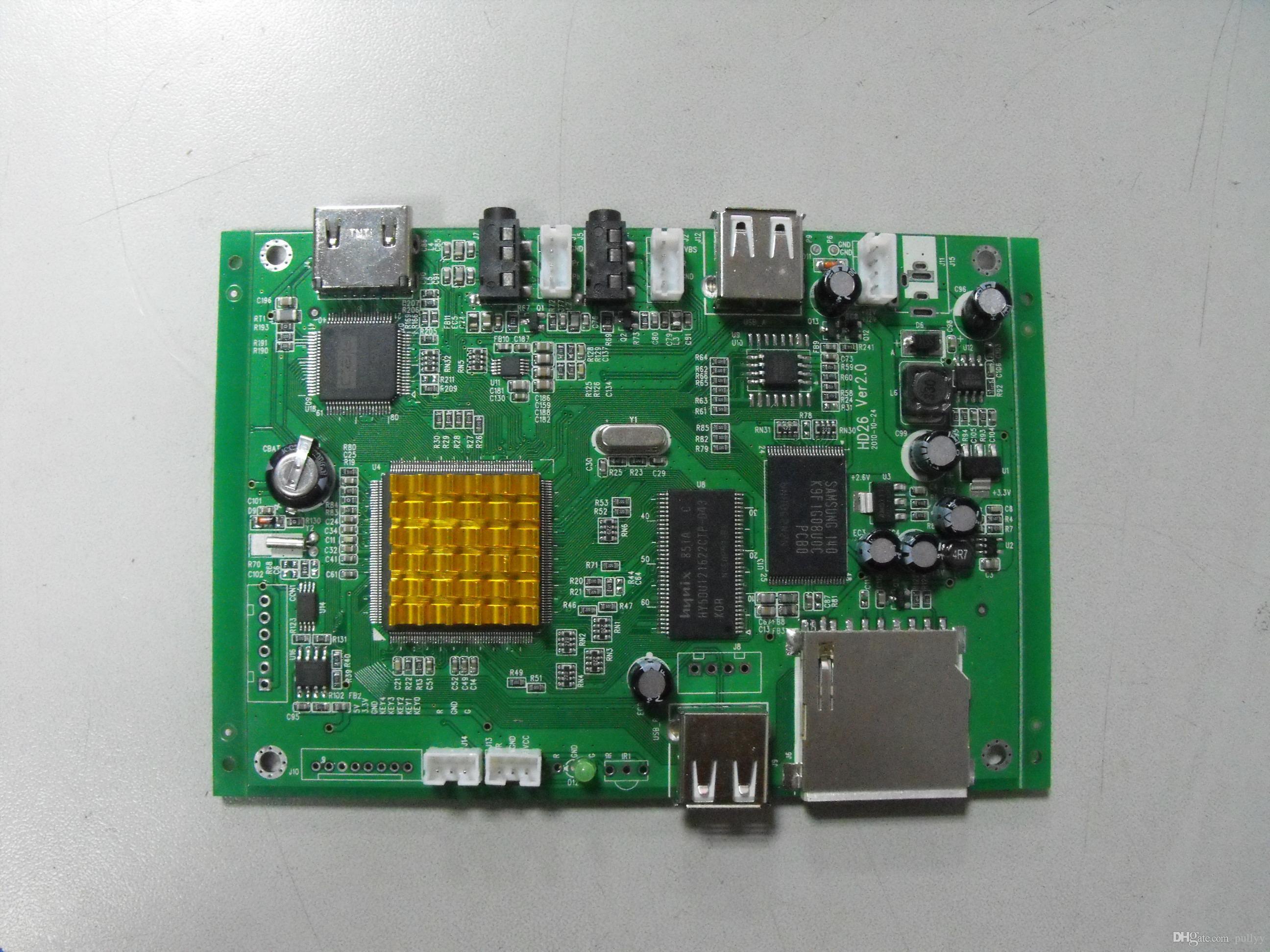 sd / usb 디스플레이 장치와 함께 1080p 광고 플레이어 보드 HDMI pcba 플레이어