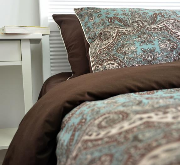 2020 Brown Blue Classical Bedding Sets Queen King Size Western