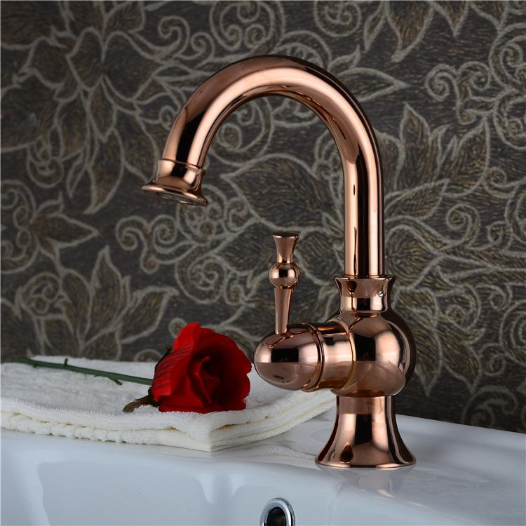 Free Shipping Roman Bronze Porcelain Faucets Kitchen Swivel Bathroom Basin Brass Sink Faucet Crane Mixer Tap