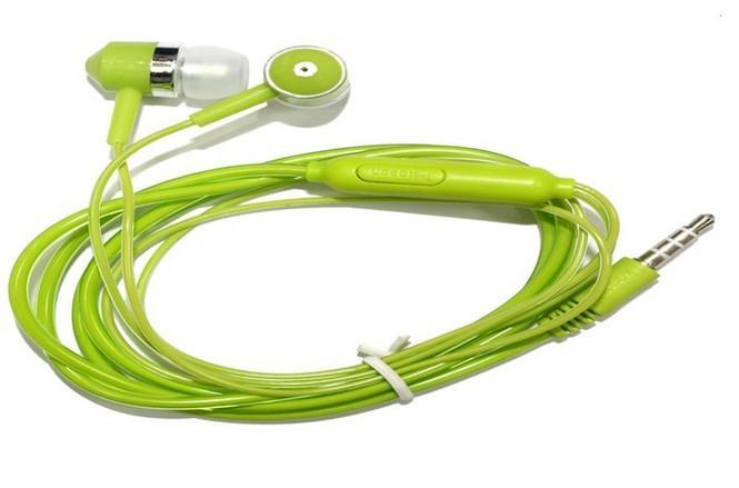 Top Luxus In-Ear Headset DJ Kopfhörer Draht mit Mikrofon Kopfhörer für iPhone Samsung Media Player 3,5 MM