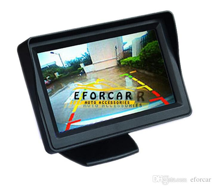 "New Hot Sale Good Quality 12V 4.3"" HD TFT LCD Car Reverse Rear View Camera Monitor"