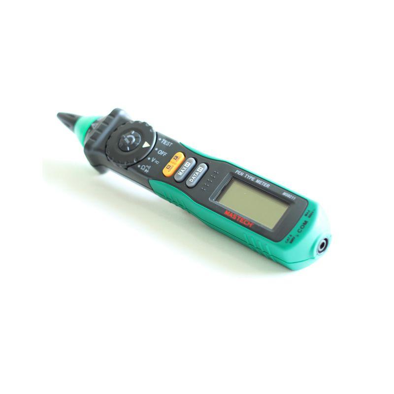 Freeshipping رقمي متعدد القلم نوع lcd عدم الاتصال الجهد الكاشف ديود الكهربائية multimetro اختبار أداة تشخيصية