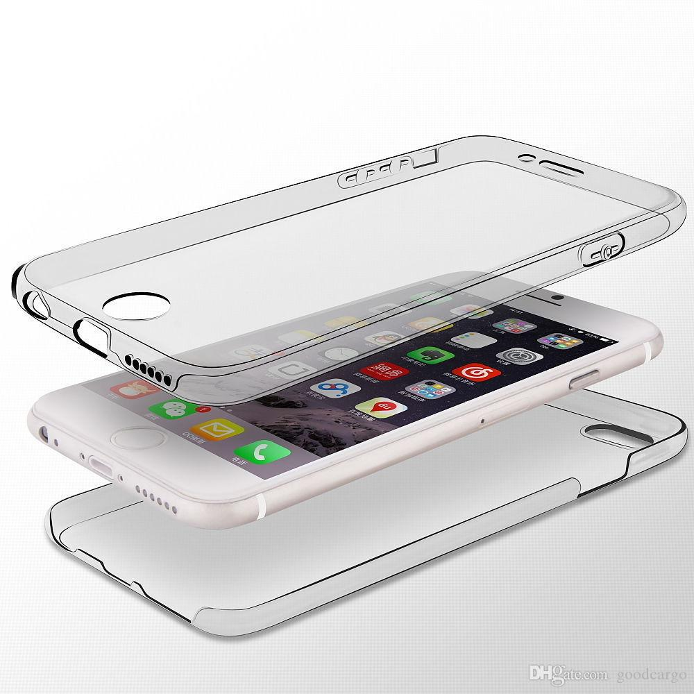 gel iphone 6 case front and back