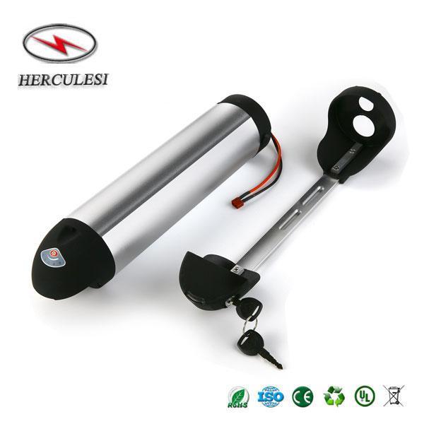 Batteria per batteria 36V 18Ah Li Ion 10S6P Samsung 18650 Batteria al litio per 500W 350W 300W Batteria per bicicletta elettrica DownTube