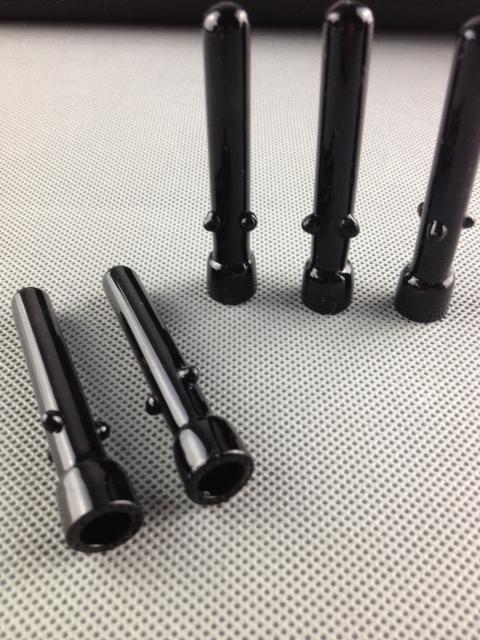 Fabryka hurtowa haishs design czarny paznokcie szklane do szklanej rury wodnej Rury olejowej Akcesoria