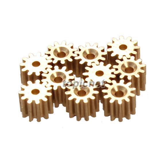 ASLT 10X 11 Engrenagem Do Dente Peças De Reposição Do Pinhão Do Eixo Do Motor de Montagem para WLtoys V959 V212 ordem $ 18no faixa