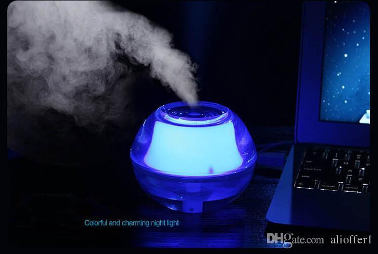 2020 Crystal Usb Air Freshener Purifier Nightlights Humidifier