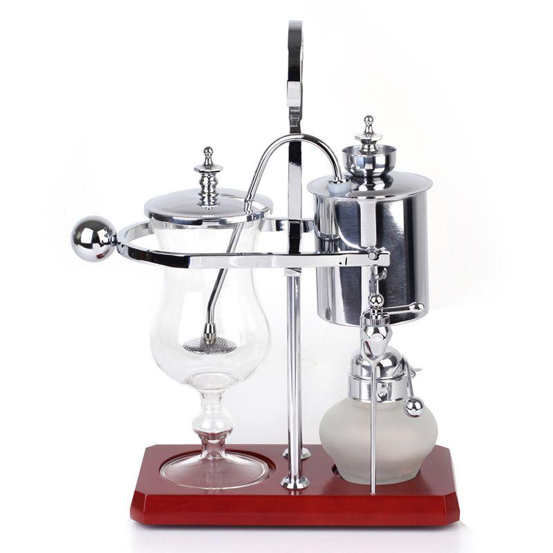 로얄 벨기에 커피 메이커 balancing 커피 머신 expresso silver giftbox 거품 포장