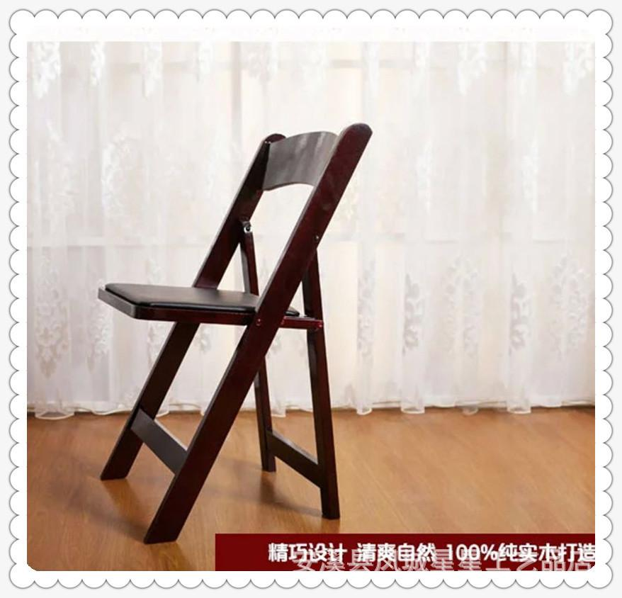 Cheap imports from factory direct wooden folding chair armchair laptop computer home wood folding chair