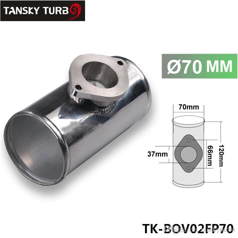 "70MM 2.75 ""RS الألومنيوم TURBO PIPE / PIPING FLANGE ADAPTER FOR GREDDY / S نوع BOV TK-BOV02FP70"