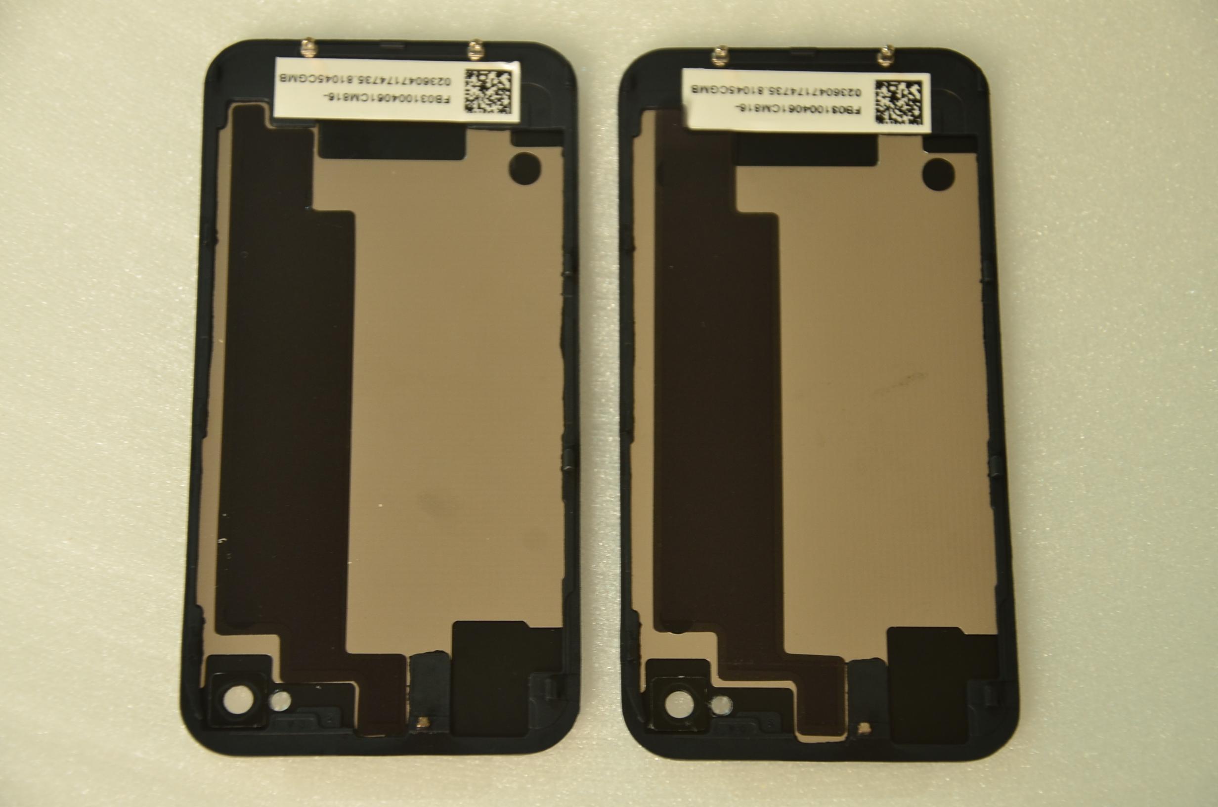 Coque Mobile Nouveau De Haute Qualité IPhone 4S Batterie En Verre De Remplacement Porte De La Batterie Porte Arrière Housse De Logement De La Porte ...