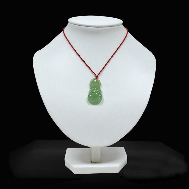 leatherette jewelry displays 도매 승진 보석 테이블 목걸이 전시 흉상 Torso 백색 PU