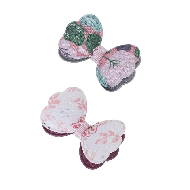 9pcs /Lot Bowknot Kids Children Hair Clip Bow Pin Barrette Hairpins Accessories For Girls Ribbon Hair Bow Ornaments Hairgrip