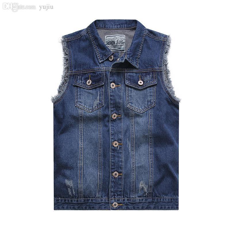 Denim Jacket No Sleeves | Outdoor Jacket
